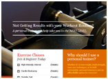 Live and Be Fit Personal Training,website design by media3 group Wisconsin