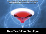 New Year's Eve Club Flyer Design