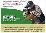 Web Design for Private Investigator Company