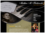 Web Design for Musician and Composer
