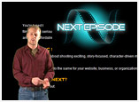 Web Design and Flash Video for NextEpisode Online
