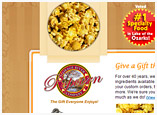 Web Design for Osage River Popcorn Company, Missouri