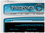 Web Design for ProgPower Europe 2006
