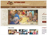 Autumn Oaks website design