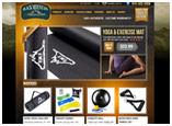 Black Mountain Products Website Design and ecommerce