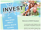 Invest Ozaukee Website