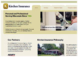 Kirchen Insurance website