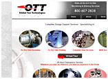 Orbital Tool Technologies web design